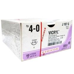 Fio de Sutura Ethicon Vicryl 4-0 c/ 12 1,5 Cm Johnson e Johnson