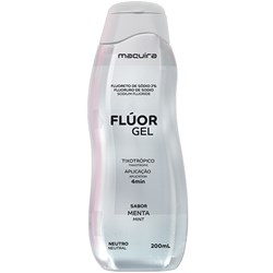 Fluor Gel Neutro Menta 200mL Maquira