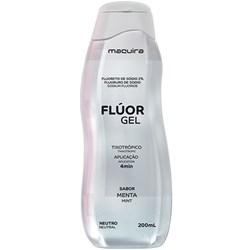 Fluor Gel Neutro Menta 200mL Maquira