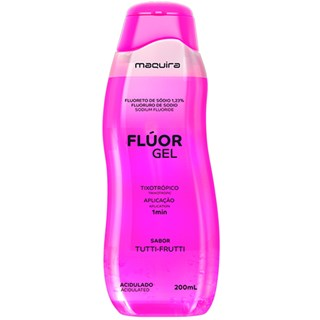 Fluor Gel Tutti Frutti Acidulado 200mL Maquira