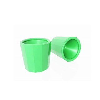 Frasco Dappen Plastico Nyllon Verde Maquira