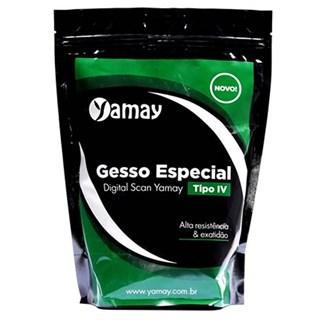 Gesso Especial Digital Scan Tipo IV Azul 2kg - Yamay