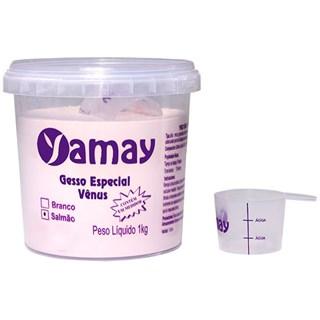 Gesso Especial Vênus Tipo IV Salmão Pote 1kg - Yamay
