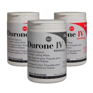 Gesso Pedra Especial Durone c/3 (2 Salm?o - 1 Branco) 1kg - Dentsply
