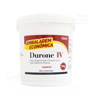 Gesso Pedra Especial Durone Tipo Iv 5 Kg Salmon Dentsply