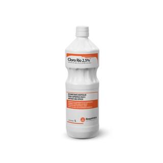 Hipoclorito de Sodio Cloro Rio 2,5% Rioquimica