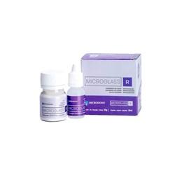 Ionomero de Vidro Microglass R Cor A3 Po + Liquido - Microdont
