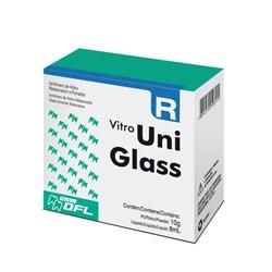 Ionomero de Vidro Restaurador e Forrador Uniglass A3 Nova Dfl