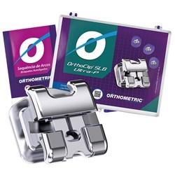 Kit Bráquete autoligado Orthoclip SLB Ultra-p + Sequência de arcos