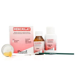 Kit Dencrilay 50g Verm + 50ml - Dencril