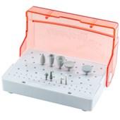 Kit para Ortodontia - Remoção de Braquetes Estéticos - 9 peças - American Burrs