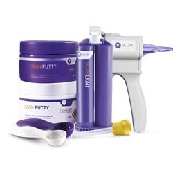 Kit Silicone de Adição Scan Light + Putty 600 + Dispensador Universal