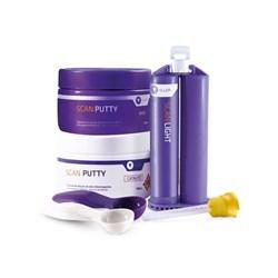 Kit Silicone de adição Scan Putty + Scan Light