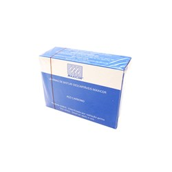 Lamina de Bisturi 20 Aco Carbono c/ 100 Maxicor