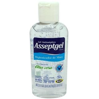 ?lcool Gel Asseptgel Cristal Aloe Vera 70% 52G - Start