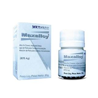 Liga de Prata Maxalloy 30g 80% Ag Metalms
