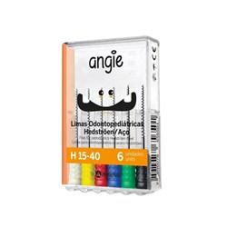 Lima Hedstroem Odontopediatrica 1a Serie 15-40 17mm 530 Angie By Angelus