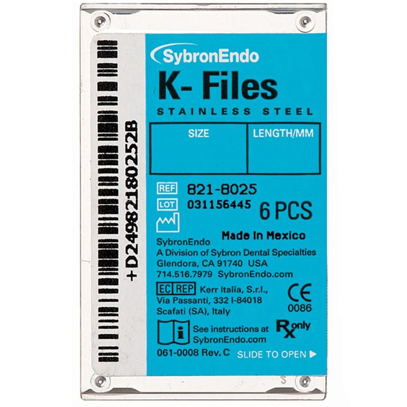 Lima K-Files SybronEndo - Kavo Kerr
