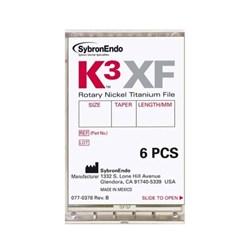 Lima Rotatoria K3xf Conicidade 04 N30 25mm Com 6 Sybronendo