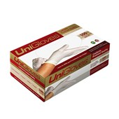 Luva Para Procedimento Latex Powder Free Conforto Premium Pp c/ 100 Unigloves