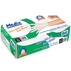 Luva para Procedimento Latex sem Pó c/100 - Medix