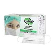 Mascara Protdesc Tripla Elastico Branca Cx c/  50 Un
