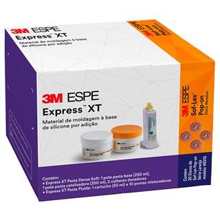 Material de Moldagem Express XT Kit Baixa Viscosidade - Grátis Tira de Lixa c/ 30 4931G - 3M