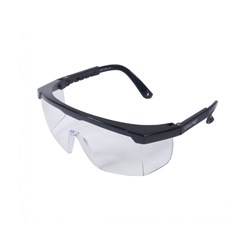 Óculos Nitro Haste Preta Incolor Safety Lens Steelpro