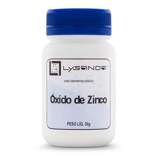 Óxido de Zinco 50g - Lysanda
