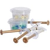 Pasta de Hidróxido de Cálcio UltraCal XS Kit c/4 + 20 Pontas Aplicadoras - Ultradent