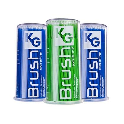 Pincel Kg Brush Kit c/  2 Fino Azul + 1 Verde Kg Sorensen