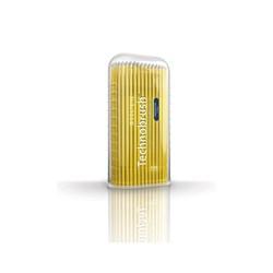 Pincel Technobrush Amarelo Fino c/ 100 Coltene