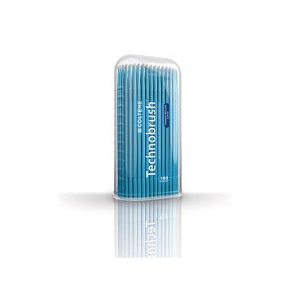 Pincel Technobrush Azul Regular c/ 100 Coltene