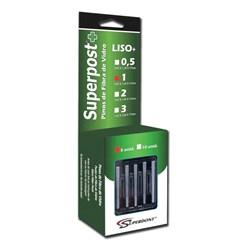 Pino de Fibra de Vidro Superpost + Liso N1 Refil c/ 5 Superdont