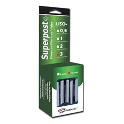 Pino de Fibra de Vidro Superpost+ Liso Refil N3 c/ 10 Superdont