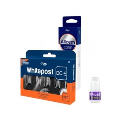 PINO FIBRA VIDRO WHITE POST DC KIT C/25+ALLCEM CORE A2+PROSIL FGM VAL JUN/2021