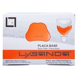 Placa Base Fina Rosa c/ 10 - Lysanda Val Abr/2021