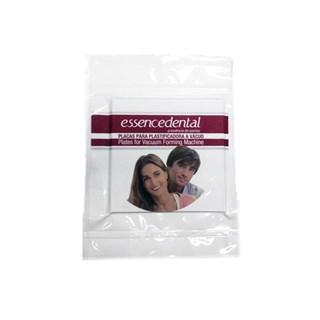 Placa Cristal 2,00mm Quadrada c/ 5 Essence Dental Vh