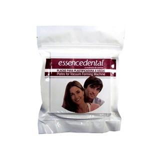 Placa Silicone(eva) 1,00mm Quadrada c/ 10 Essence Dental Vh