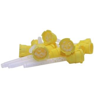 Ponta Misturadora Amarela c/ 12 Unidades Biodinamica