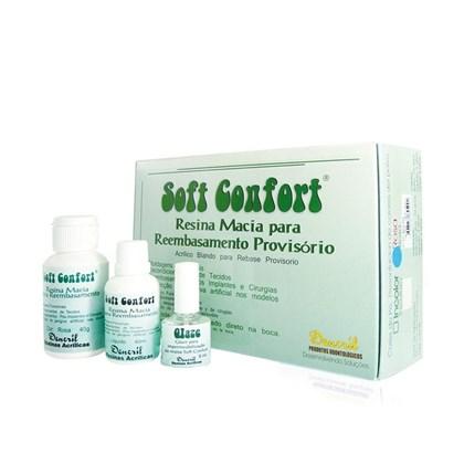 Reembasador Soft Confort Macia Provisorio Rosa Dencril
