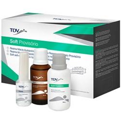 Reembasador Soft Provisório Macio Incolor - TDV