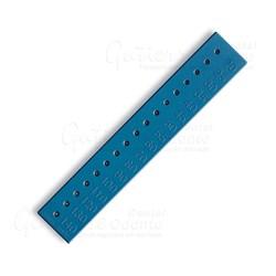 Regua Calibradora Plastica p/ Endo Dentsply