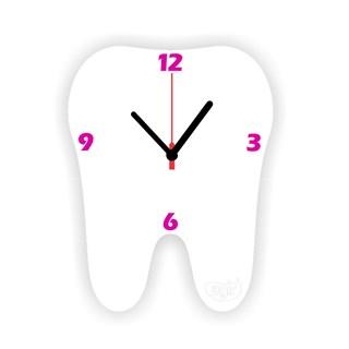 Relogio de Parede Dente Branco Agir