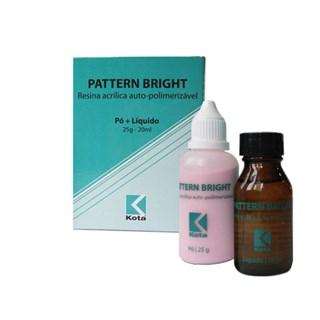 Resina Acrilica Pattern Bright Kit Po 25g + Liq 20mL Kota