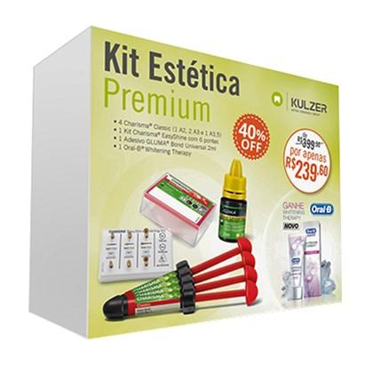 Resina Charisma Classic Kit Premium c/4 + Gluma Univ. + Polidor - Kulzer