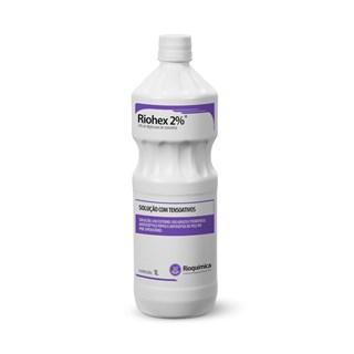Riohex Antesséptico Tópico 2% 1 Litro - Rioquímica