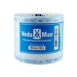 Rolo Para Esterilização 10CMX100M - Vedamax<br /> <br />