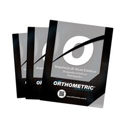 Sequencia de Arcos Estetico Para Autoligado Ceramico 57.48.4000 Orthometric