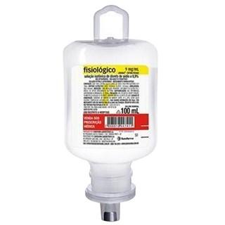 Solução Fisiológica 0,9% Bolsa 100ml - Sanobiol Cristália